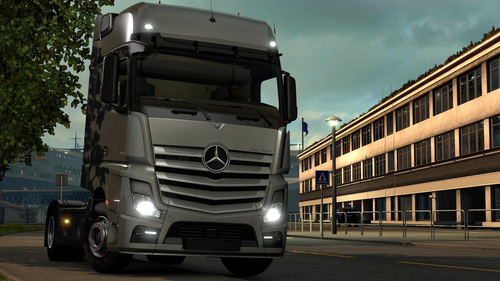 Обзор компьютерной игры Euro Truck Simulator 2