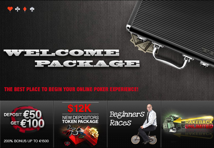 Бонусный пакет для зарегистрировавшихся игроков от рума Titan Poker.